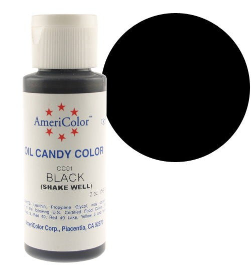 Americolor Candy Coloring - BLACK