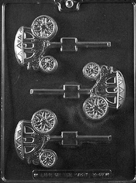 Carriage Chocolate Mold