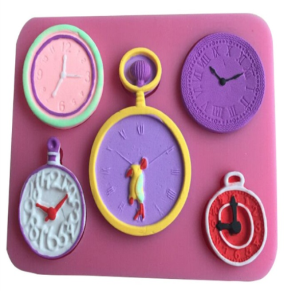 Clock Collection Silicone Mold
