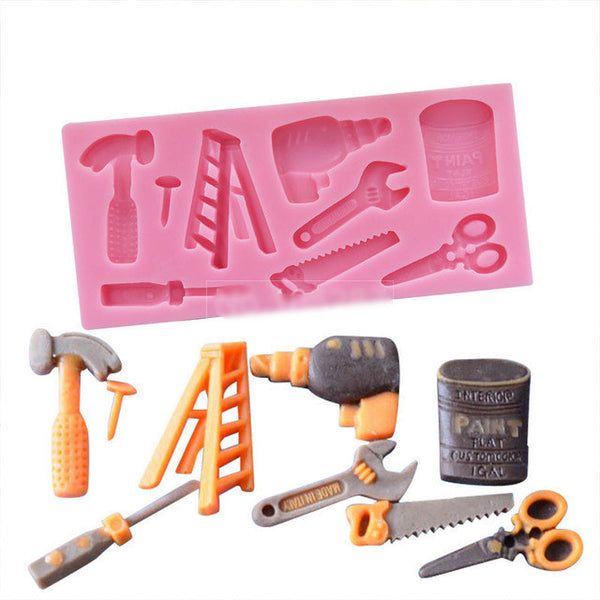 Construction Tools Silicone Mold (5381246279)
