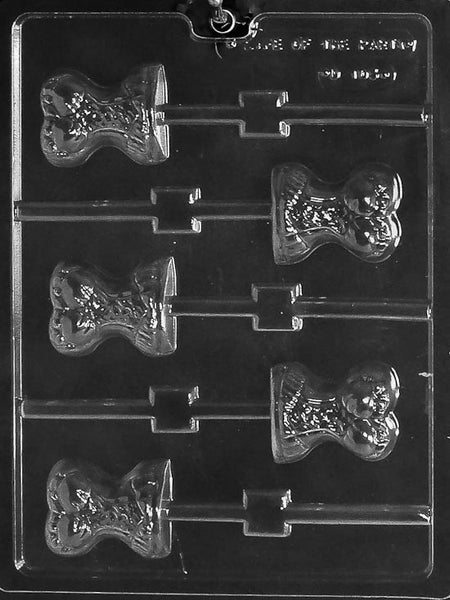 Corset Lolly Chocolate Mold