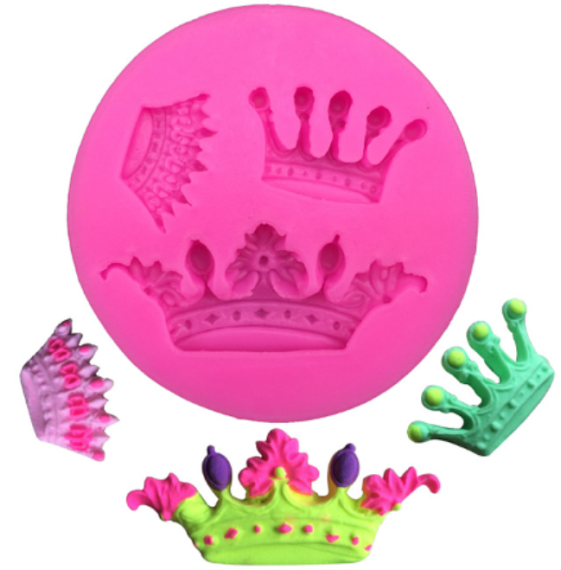 Crown Collection Silicone Mold
