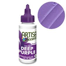 DEEP PURPLE Artisan Accent Gel Color