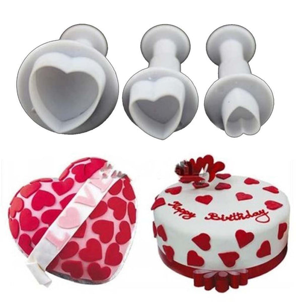 Heart Plunger Cutter Set (7442111559)