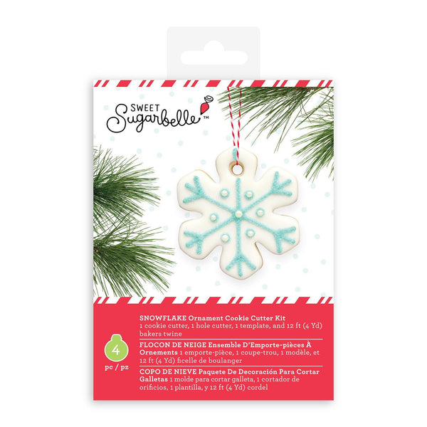 Sweet Sugarbelle SNOWFLAKE Ornament Cookie Cutter Kit