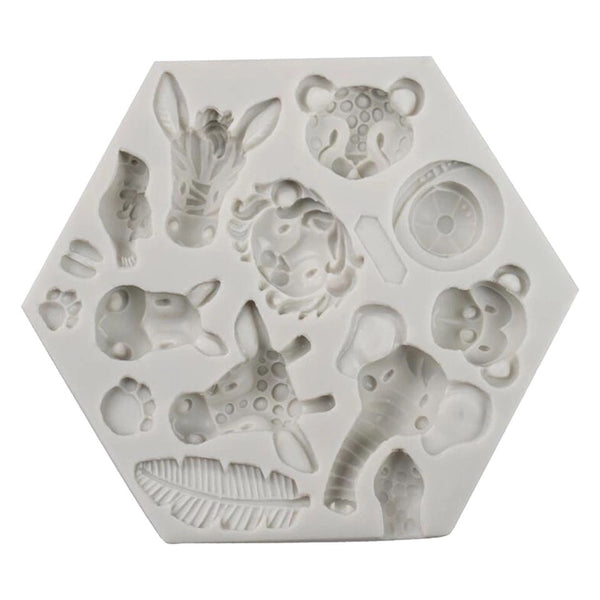 Safari Collection Silicone Mold