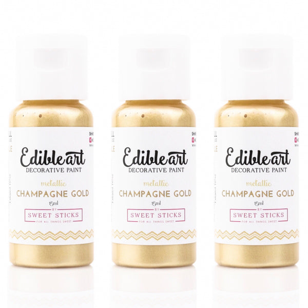 Edible Art Decorative Paint - CHAMPAGNE 15ml