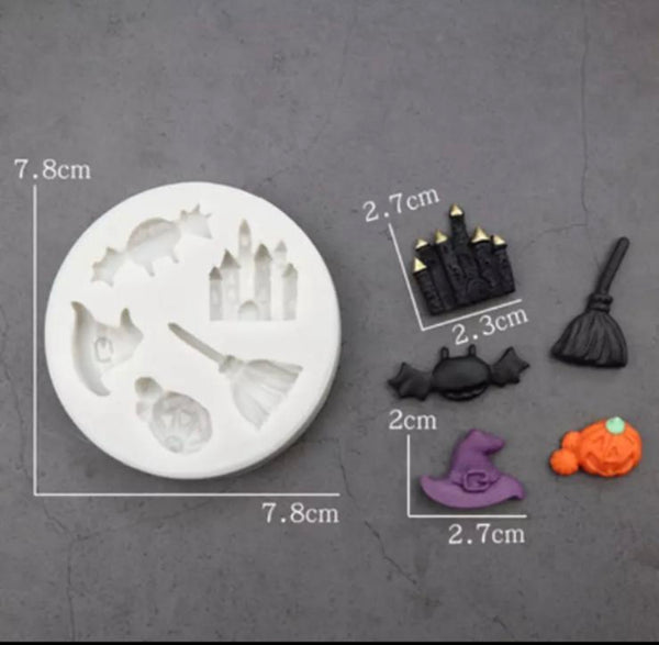 SPOOKY ASSORTMENT Silicone Mold