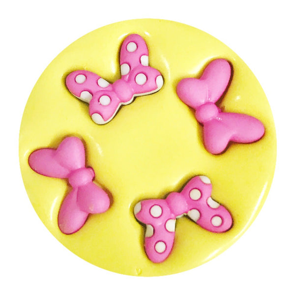 HS Yellow Collection - Mini Bows 4 Set Silicone Mold