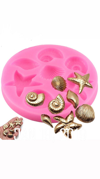 MINI SEA SHELL Collection Silicone Mold