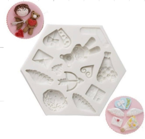VALENTINE'S DAY COLLECTION Silicone Mold