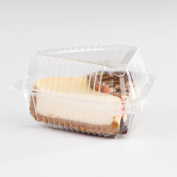 Cake Slice Plastic Container 5-Pack