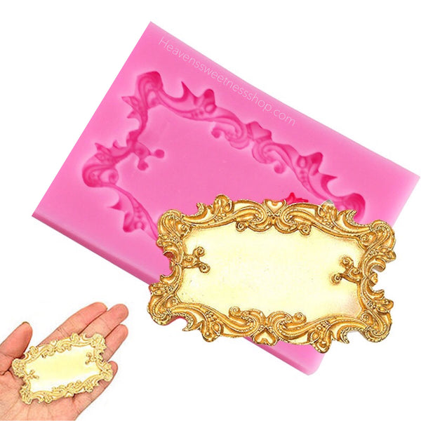 Rectangular Plaque Silicone Mold