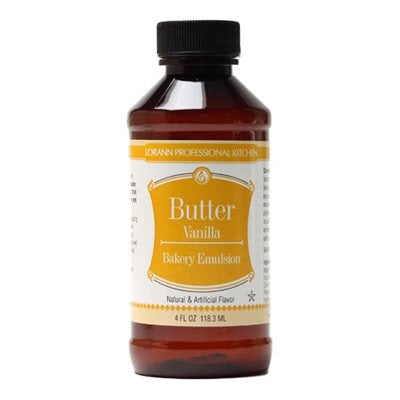 Lorann Oils Butter Vanilla Emulsion 4oz.