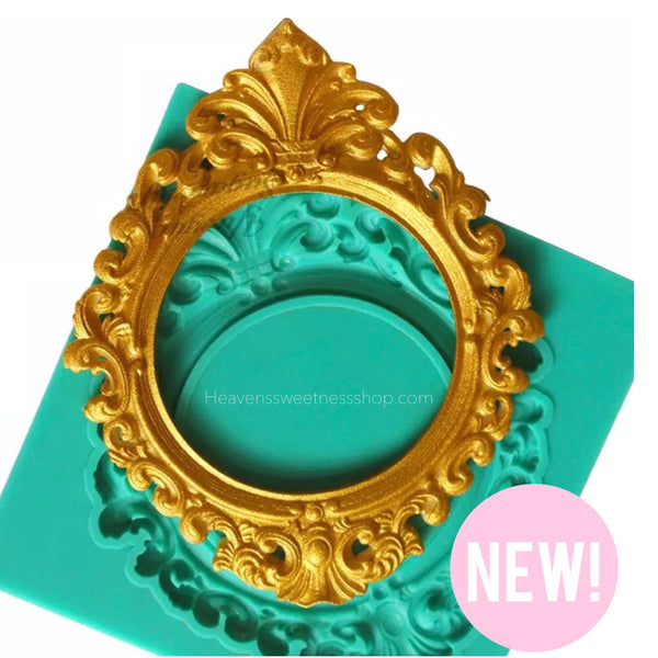 Rosey Frame Silicone Mold