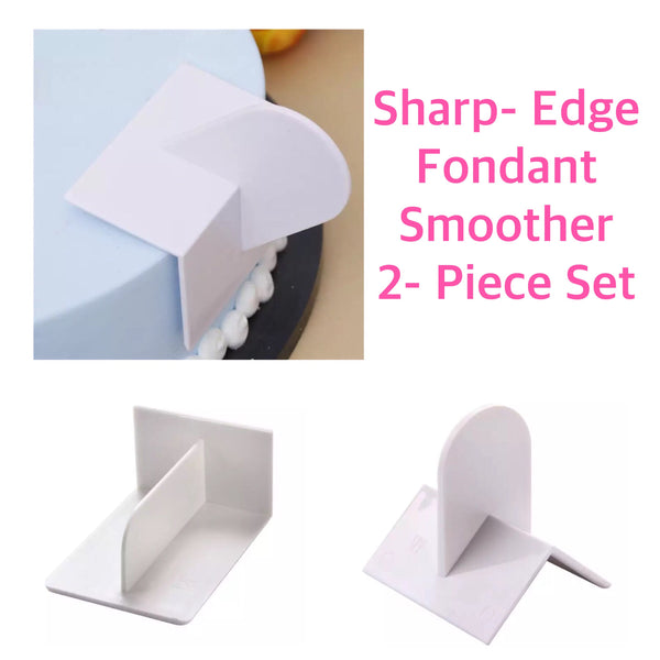 Sharp Edges Fondant Smoother Set