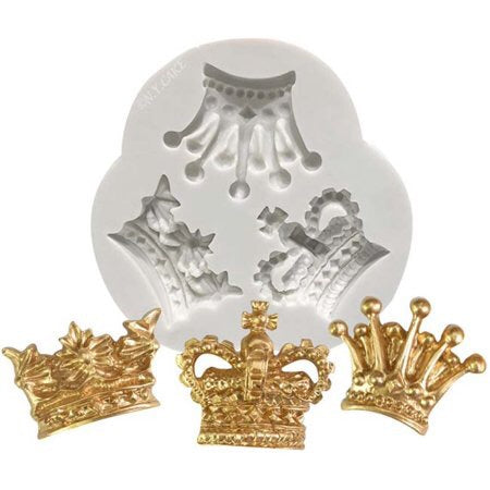 Victorian Crown Trio Silicone Mold