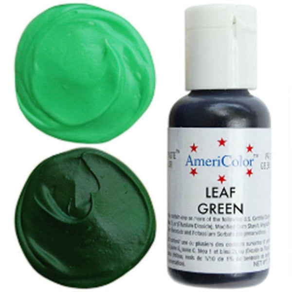 Americolor Leaf Green Soft Gel Paste Food Color .75 oz