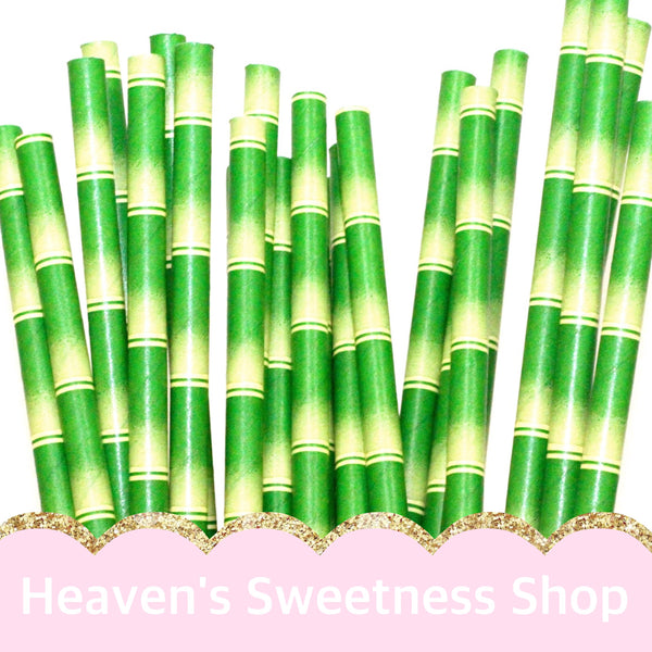 Paper Straws - Bamboo Paper