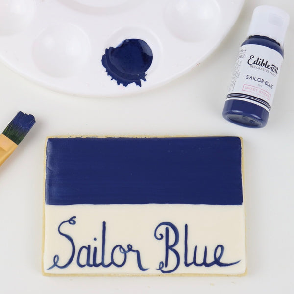 Edible Art Decorative Paint Sailor Blue