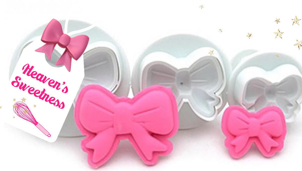 Ribbon Bow Plunger Cutter Set