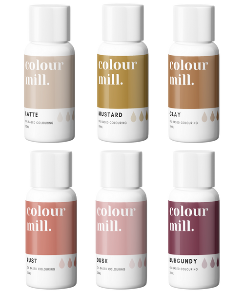 COLOUR MILL DESERT Collection 20ml 6 Pack Preorder