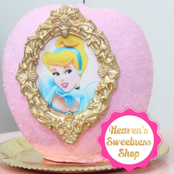 HS Yellow Collection - Fancy Princess Mirror Frame