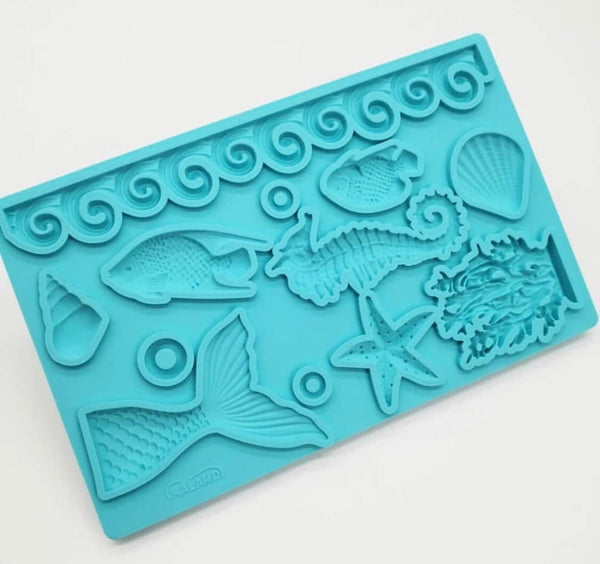 Mermaid Collection Silicone Mold