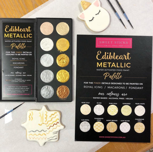 NEW! Edible Art Food Paint Palette