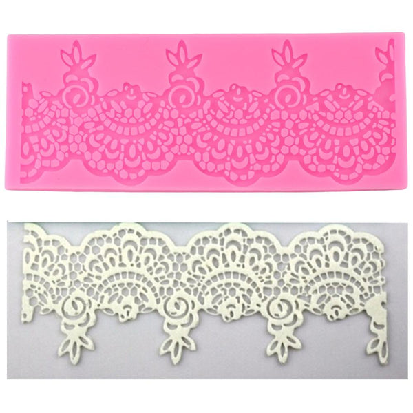 Lace Border Silicone Mold