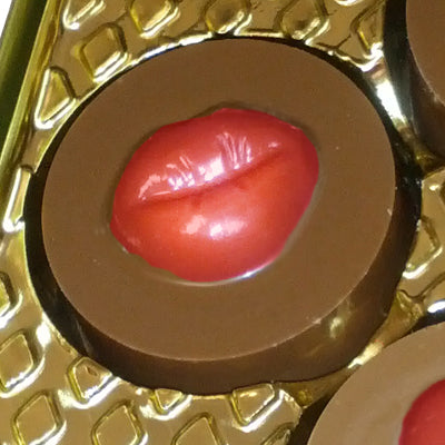 LIPS ROUND COOKIE Chocolate Mold