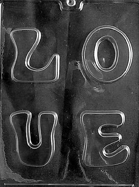LOVE Letters Chocolate Mold (5914246151)