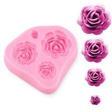 Rose Collection Silicone Mold