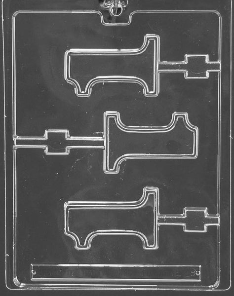 Number #1 Lolli Chocolate Mold