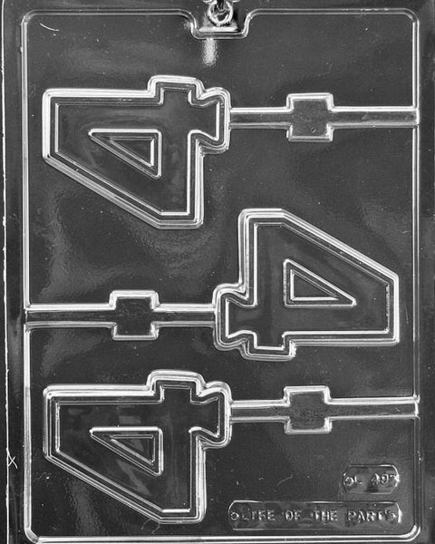 #4 LOLLY Chocolate Mold (4333125831)