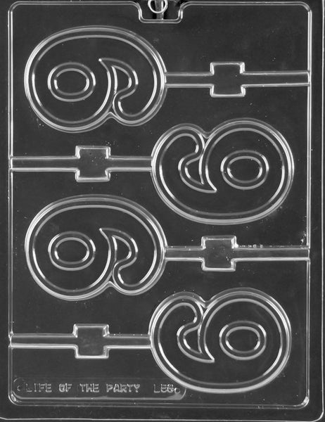 #9 LOLLY Chocolate Mold (4332967559)