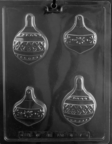 Ornament Cookie Chocolate Mold
