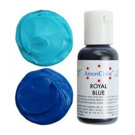 Americolor Royal Blue Soft Gel Paste Food Color .75 oz (4423309511)