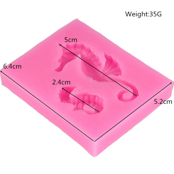Sea Horse Duo Silicone Mold