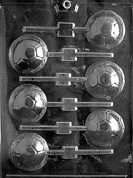 SOCCER BALL LOLLY Chocolate Mold