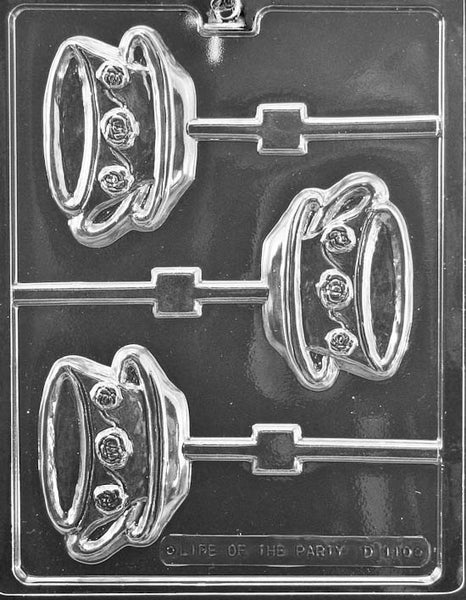 Teacup and Saucer Lolly Chocolate Mold