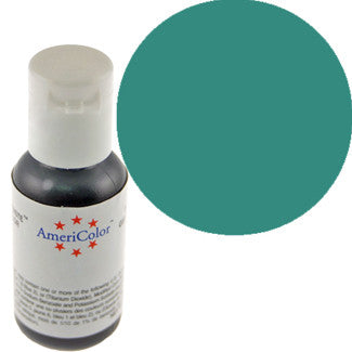 Americolor Teal Soft Gel Paste Food Color .75 oz