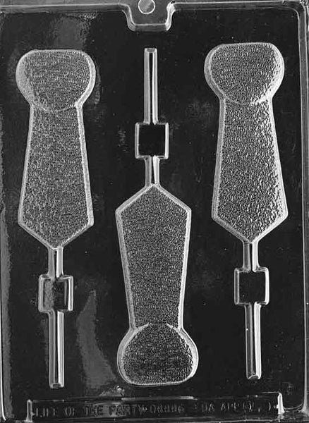 Tie Lolly Chocolate Mold