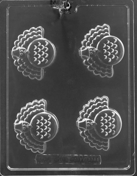 Turkey Cookie Chocolate Mold