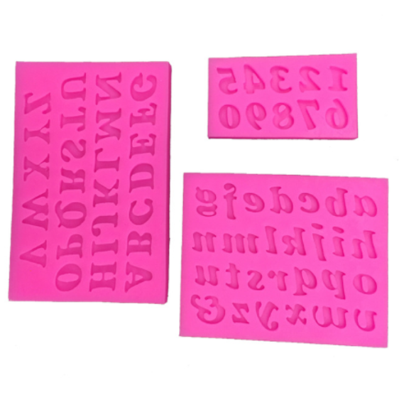 Alphabet Set Silicone Mold (5341634439)