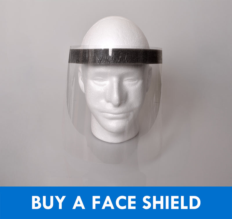 Face Shield - Accent Paddles