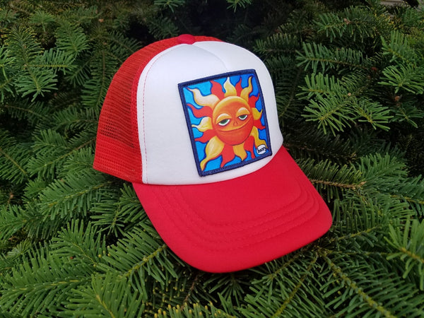 Smiling Sun Little Henry Trucker Hat