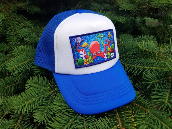 Quadrapus Little Henry Trucker Hat - Art of Henry