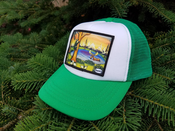 The Great Outdoors Little Henry Trucker Hat - Art of Henry