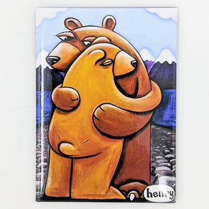 Bear Hug Magnet - Art of Henry
